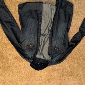 Calvin Klein long sleeve denim